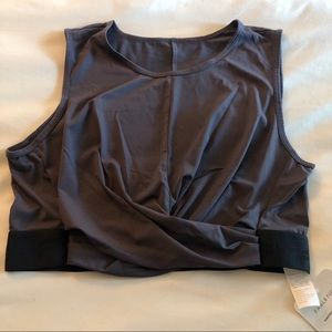 NWT Fabletics twist front tank